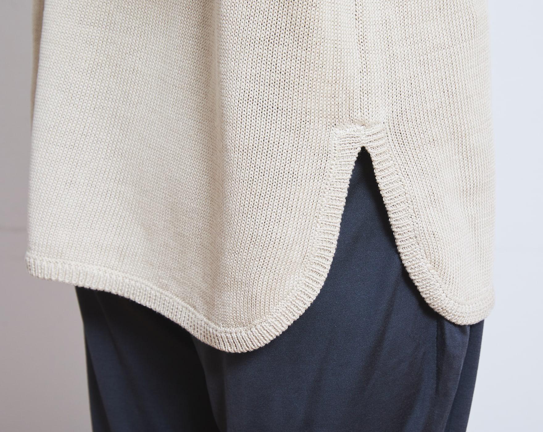 セーター/シルクリネン